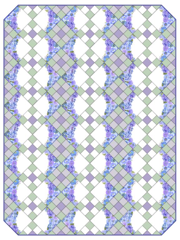 Karen's Nine Patch Garden Pattern