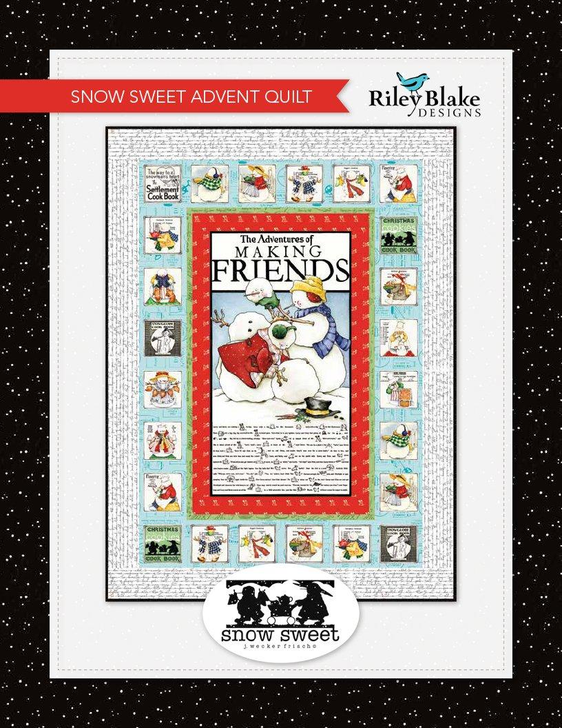 Snow Sweet Advent Quilt Kit