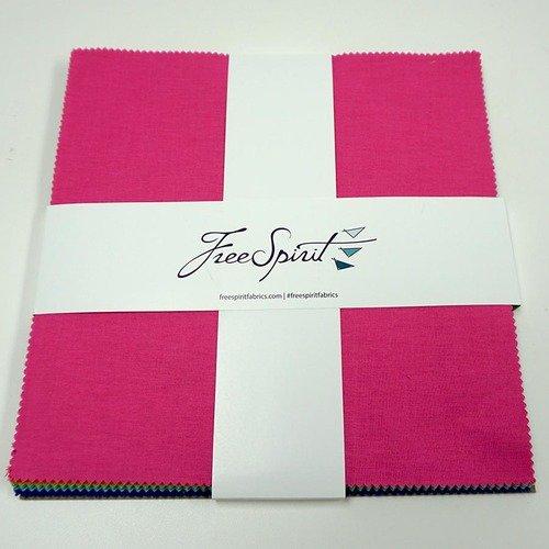 10 Charm Pack - Tula Pink Designer Solids