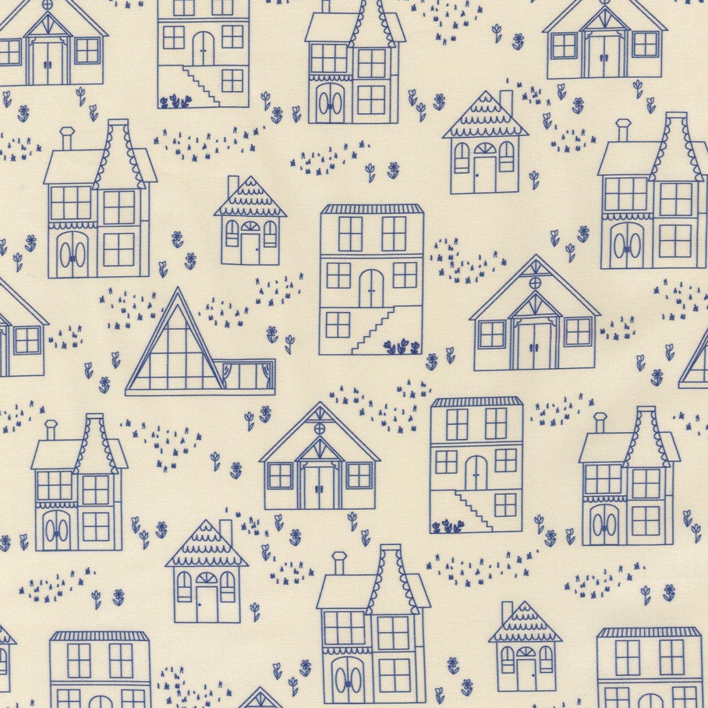 On The Lighter Side - Blue Houses
