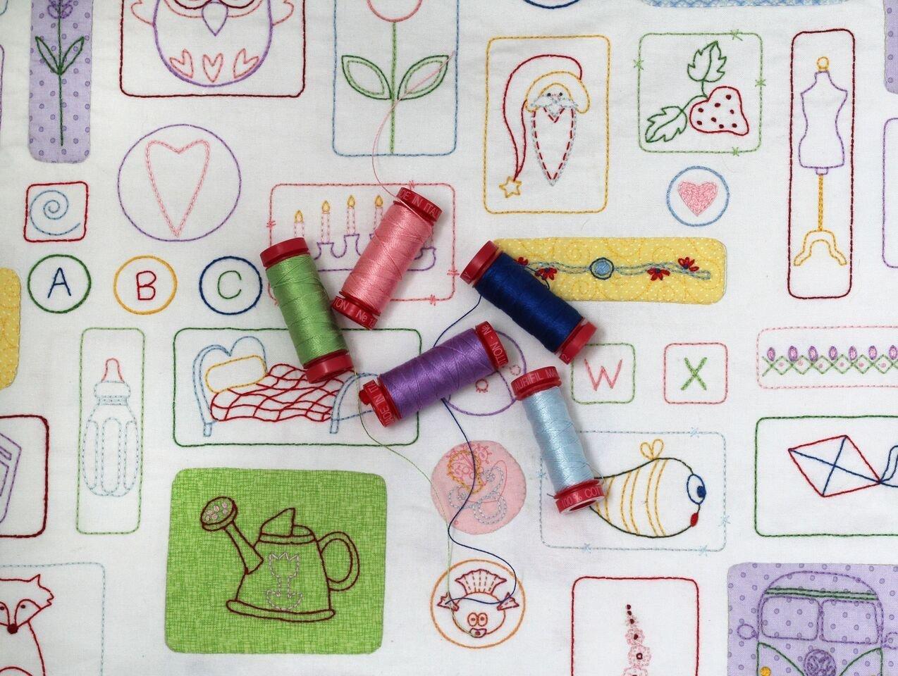 Stitch Therapy Aurifil Thread Set
