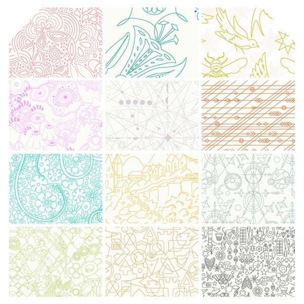 Sun Print Light Fat Quarter Bundle