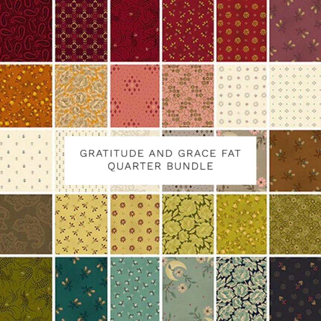 Gratitude and Grace Fat Quarter Bundle