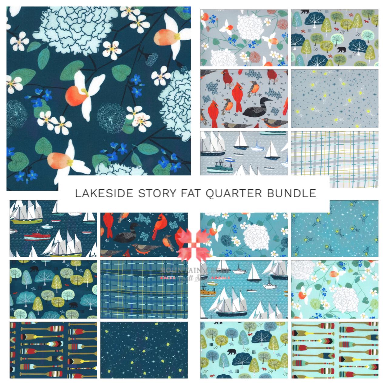 Lakeside Story Fat Quarter Bundle