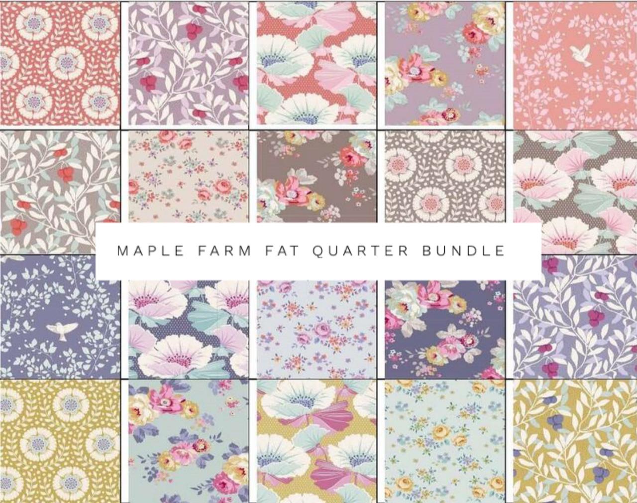 Maple Farm Fat Quarter Bundle