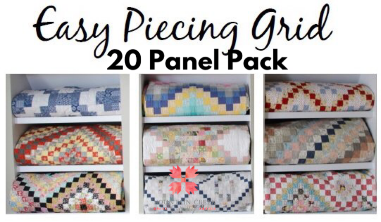 Easy Piecing Grid - 20 Panels - 1.5 Finished
