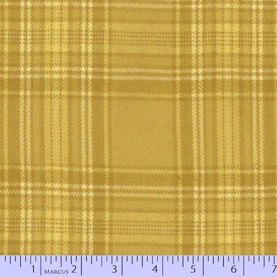 Primo Plaid Flannel - Tape Measure Yellow Plaid
