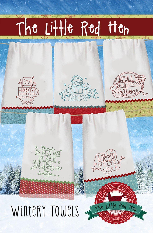 Wintery Towels Pattern