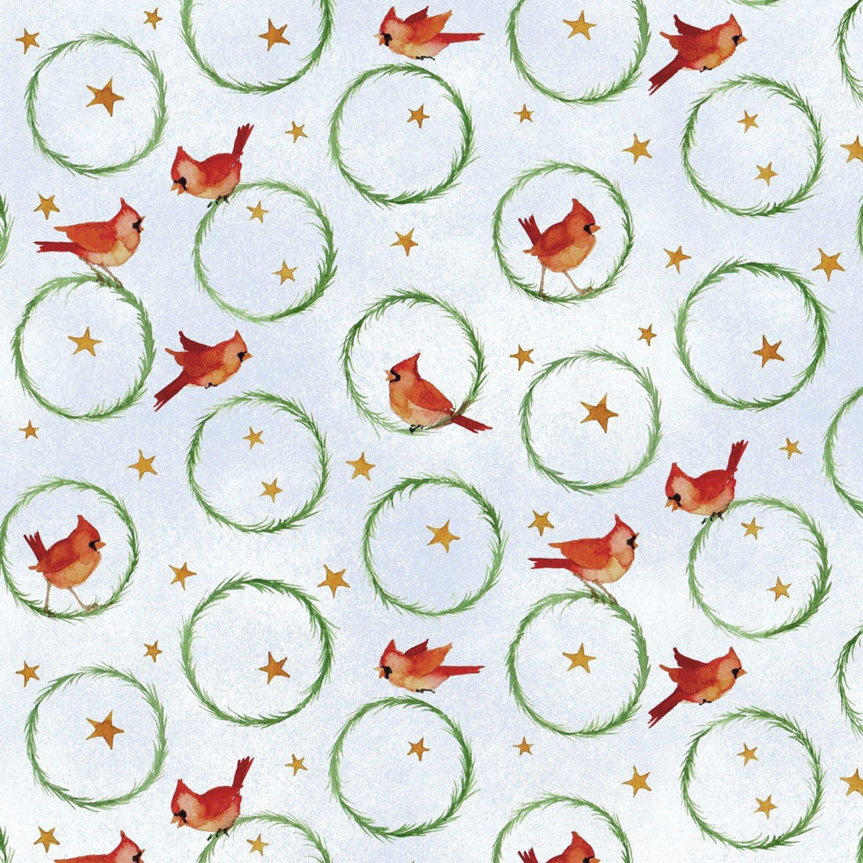 Winter Snowmen Wreaths - Multi Birds