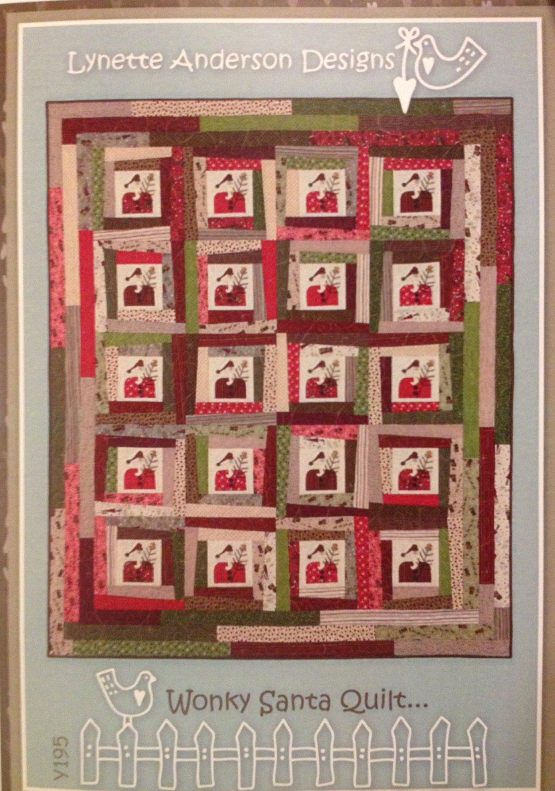 Wonky Santa Pattern