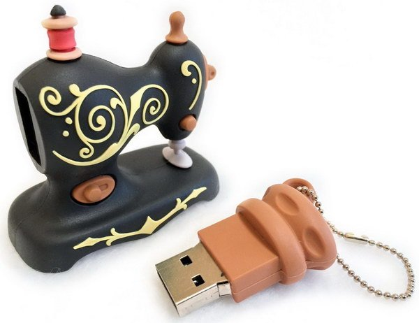 Sewing Machine USB Drive - 2gb