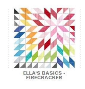 Firecracker Free Project from Ella Blue Fabrics