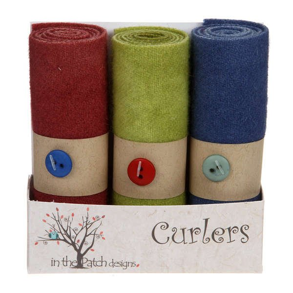 Wool Curlers 4in X 16in Vineyard