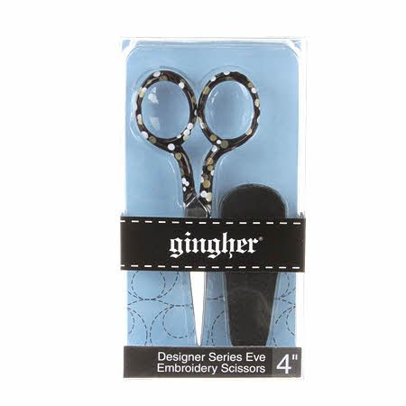 4in Gingher Eve Designer Embroidery Scissors