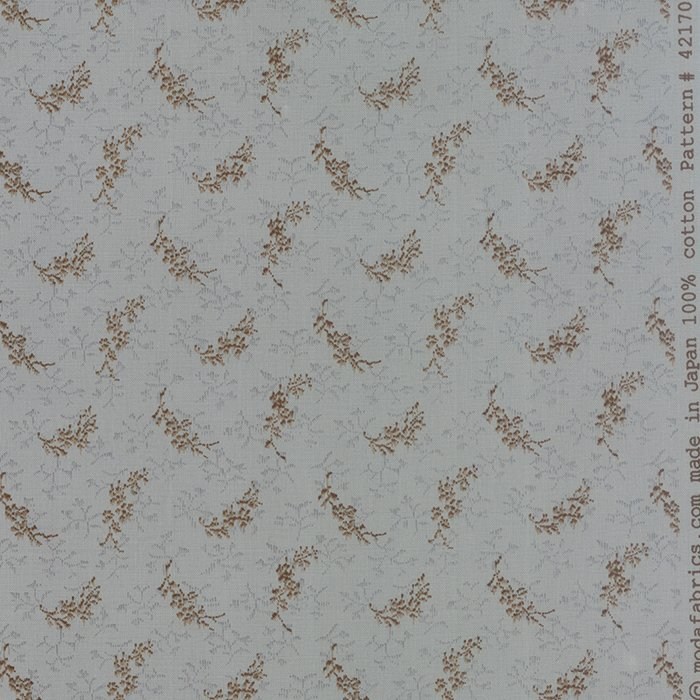 Snowbird Prints Winter Morning Frozen in Time Yardage SKU# 42170-16