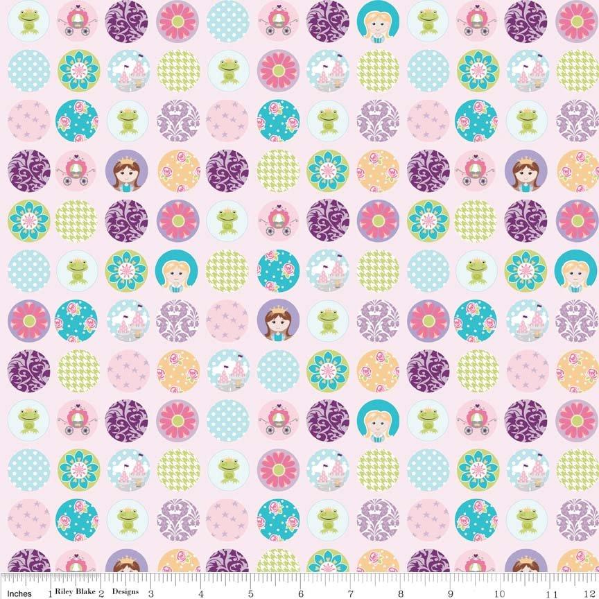 C4813-PINK Dream Dots Pink