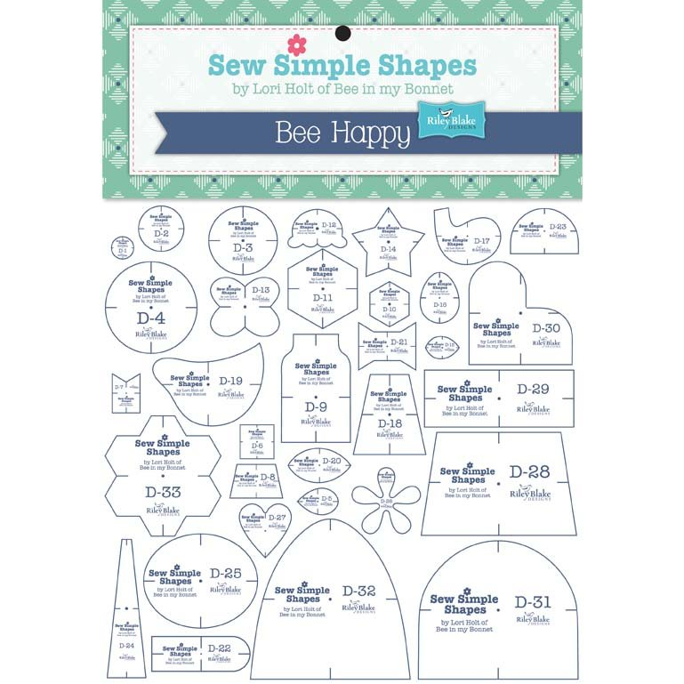 Bee Happy Sew Simple Shape