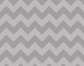 Chevron Gray on Gray