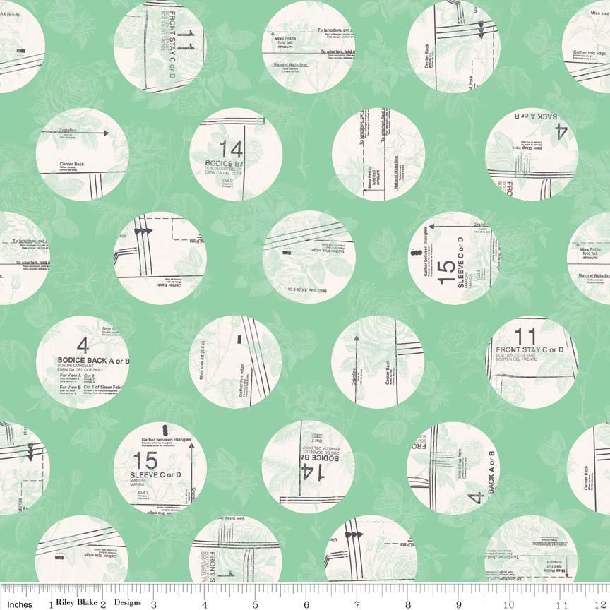 Sew Circles Mint