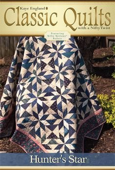 Classic Quilts Pattern-Hunter's Star