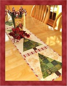 O Christmas Tree Table Runner Pattern