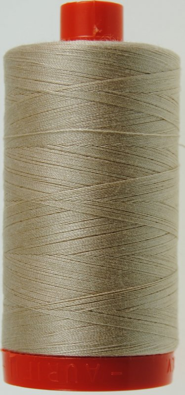 Aurifil 50 wt. Piecing Thread-2000 Sand