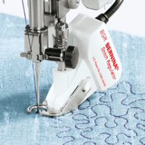 Quilting with Stitch Regulator