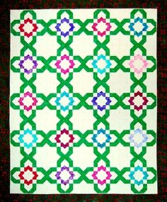 Flower Trellis Pattern