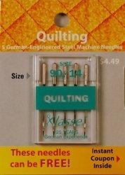 Klasse Needles- Quilting 90/14