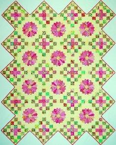 Sunburst Blossoms Pattern