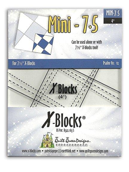 Mini 7.5 Inch X-Blocks Ruler