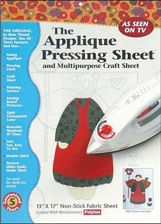 Applique Pressing Sheet 13 inch x 17 inch