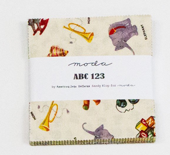 ABC 123 Charm Pack