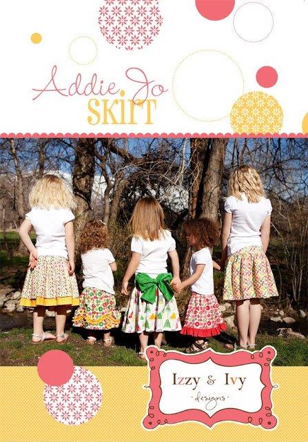 Addie Jo Skirt Pattern