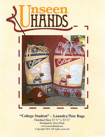 College Student Laundry/Tote Bag Pattern