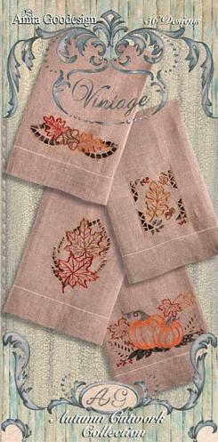 Autumn Cutwork Design Pack