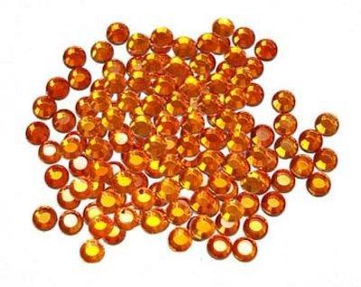 Hot Fix Crystals  (4mm) - Sun