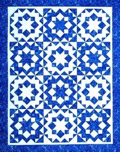 Crystal Snowflakes Pattern