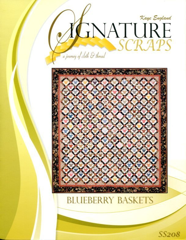 Signature Scraps Pattern- Blueberry Baskets