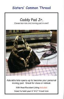 Caddy Pad Jr. Pattern Plus Heat Resistant Fabric