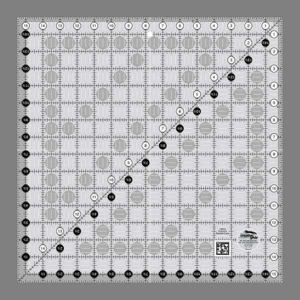 Creative Grids Ruler 15.5 x 15.5
