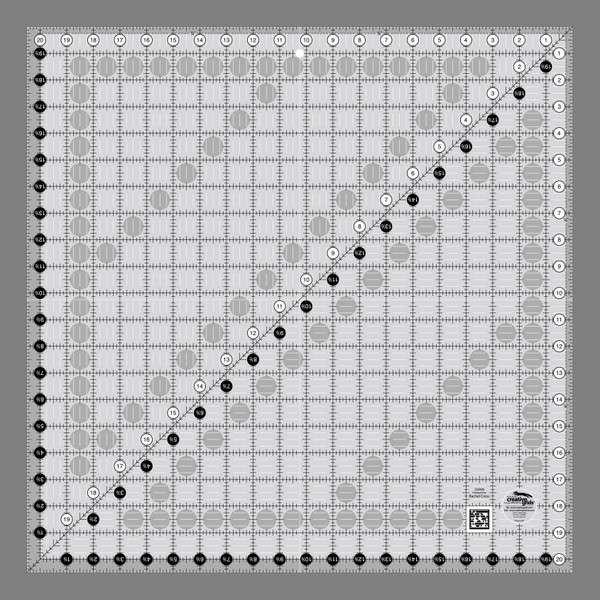 Creative Grids Ruler 20.5 x 20.5
