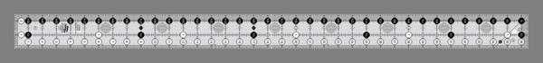 Creative Grids Ruler Yardstick 2.5 x 36.5