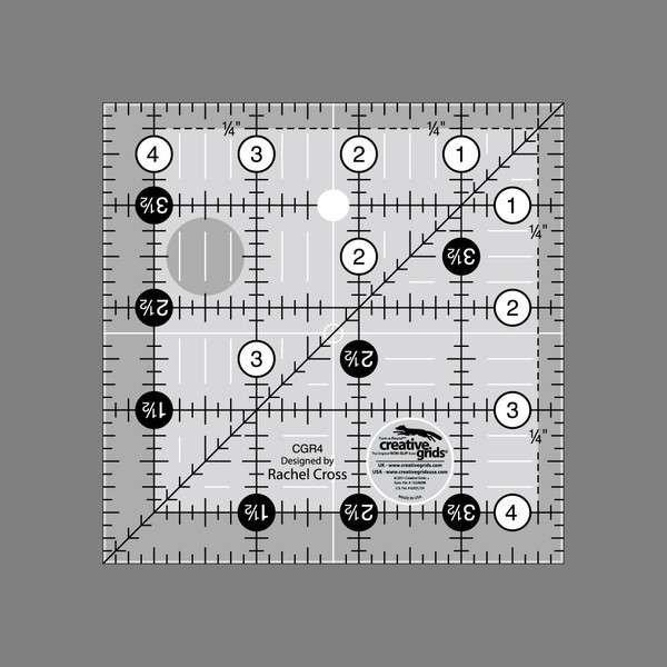 Creative Grids Ruler 4.5 x 4.5