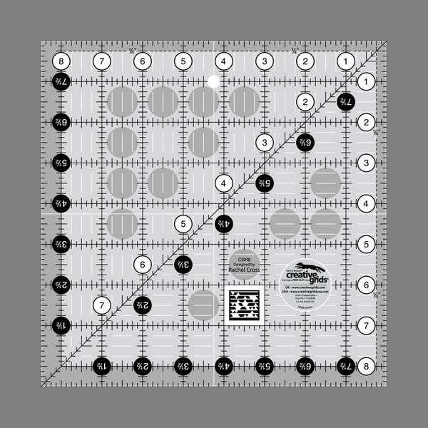 Creative Grids Ruler 8.5 x 8.5