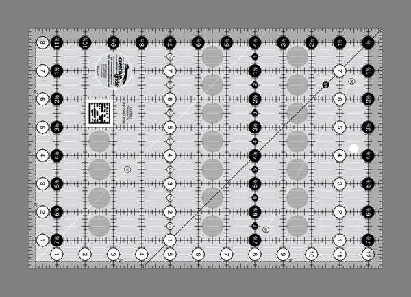Creative Grids Ruler 8.5 x 12.5