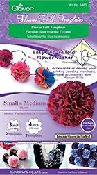 Flower Frill Template-Small & Medium