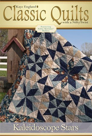 Classic Quilts Pattern- Kaleidoscope Stars