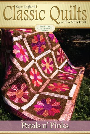 Classic Quilts Pattern- Petals 'n Pink