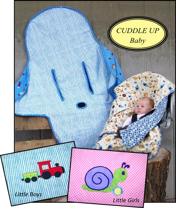 Cuddle Up Car Seat Cover Pattern